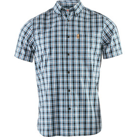 Fjällräven Övik t-shirt Heren blauw/zwart